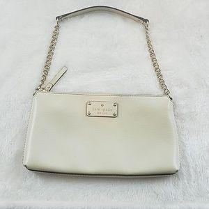 Kate Spade sm leather chain strapshoulder purse